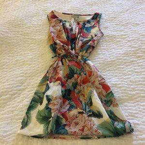 H&M Gorgeous Printed Faux Wrap Dress